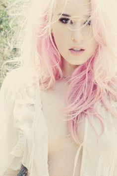 Pink & Blond hair