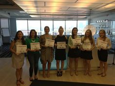 Congratulations to our New York office's Q1 2015 Talent DNA winners!