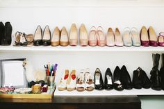 1.AVOID storing your shoes and bags in plastic lidded containers. They may look tidy but they don't let the air circulate and can encourage mould to grow. Flannel and dust bags that come with your ...