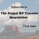 The Frugal RV Traveler - great tips for saving money on the road