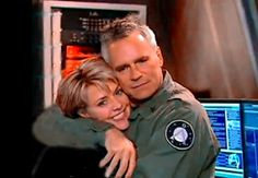 RDA and Amanda Tapping
