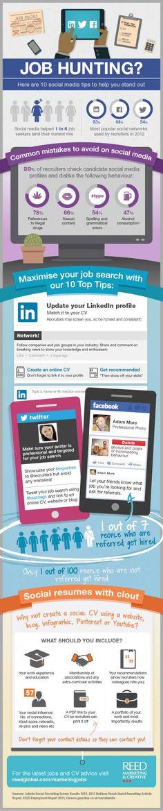 10 dicas para buscar emprego pelas redes sociais