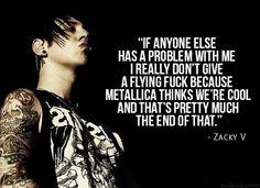 a quote by Zacky V.