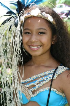 Heiva Festival dancer with a beautiful smile - Bing Images