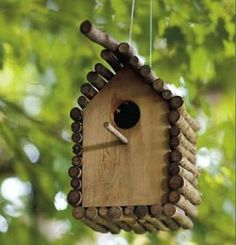 Chickadee birdhouse by fougere