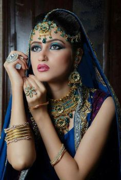 Sajal Ali Latest Stunning Bridal Makeover Shoot