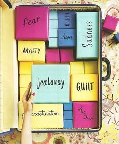Emotional Packing: this is a great idea to teach students about what a burdens can do to someone: weigh them down and take up too much room. Skit idea?