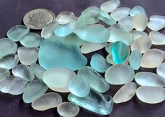 Sea Glass or Beach Glass of Hawaii beaches  by SeaGlassFromHawaii SALE! $31 Double click the photo to purchase!