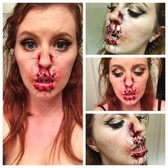 Esta chica se hace el maquillaje más terrorífico que verás en tu vida