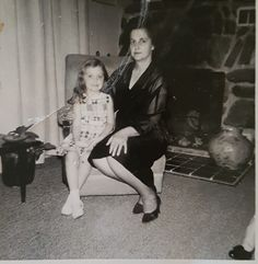 Marceline and Anna Coiteux  photo dated 1960