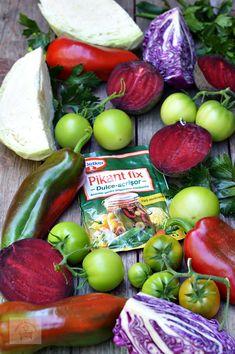 Salata de muraturi asortata - CAIETUL CU RETETE Vegetables, Healthy, Food, Canning, Salads, Essen, Vegetable Recipes, Meals, Health