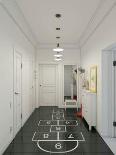 Sposoby na zapewnienie rozrywki dzieciom w domu - gry podłogowe.