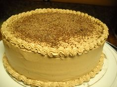 Peanut Butter Butter Cream Frosting. This stuff is amazing! I omitted the chocolate syrup and added a small amt of milk to make it fluffier. Bangin