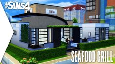 THE SIMS 4 SPEED BUILD #262 - SEAFOOD GRILL