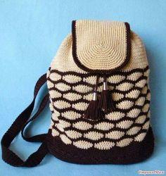 mochillas crochet