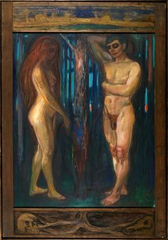 """Metabolism"", - Edvard Munch (Norwegian, - Oil on canvas, 1420 x 1720 mm - Munch Museum, Oslo Edvard Munch, Google Art Project, Amedeo Modigliani, Wall Art Prints, Fine Art Prints, Poster Prints, Karl Schmidt Rottluff, List Of Paintings, European Paintings"