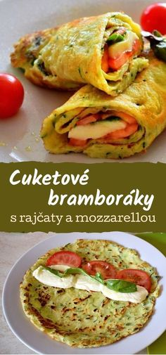 Cooking Recipes, Healthy Recipes, Low Carb Diet, Zucchini, Good Food, Food And Drink, Pizza, Lunch, Meals