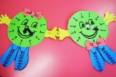 clock craft idea for kids