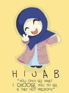 hijab to me is more than a scarf on my head and modest clothing.... hijab to me is beauty