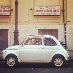Zi Vito #fiat500 #findyourfiat #rome #italy
