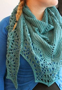 Titanium by Heidi Alander, knitted by tiijanen Shawl Patterns, Knitting Patterns, Knit Or Crochet, Knitted Shawls, Shawls And Wraps, Handicraft, Scarves, Diy Ideas, Women
