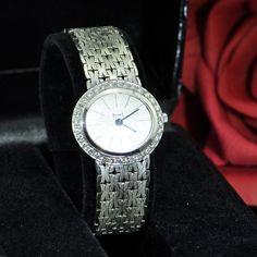 Lady's White Gold and Diamond Wristwatch, Piaget