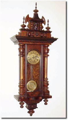 Antique German Wall Clocks | Antique German or Germany Wall Vienna Clock