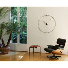 Wilhelmina Designs clock