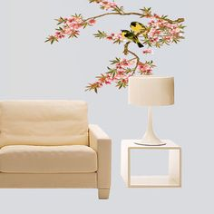 Blossoms Tree Orioles Vinyl Removable Wall Sticker Decal Home Decor //Price: $8.38 & FREE Shipping //     #wallstickerforbedroom #wallstickerforlivingroom #wallstickerforkids #wallstickerforkitchen #3Dwallsticker #removeablewallsticker #treewallsticker ##3wallstickers#3dbutterflywallstickers #3dmirrorwallstickers #3dwallsticker #3dwallstickermalaysia #3dwallstickers #3dwallstickersamazon #3dwallstickersaustralia #3dwallstickersbeach #3dwallstickersebay #3dwallstickerspakistan…