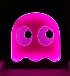 pac man neon sign home and tech pinterest pac man neon and