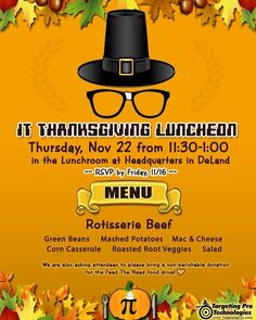 Thanksgiving Holiday Marketing is here! Dont miss out on this kick-off to the holidays!