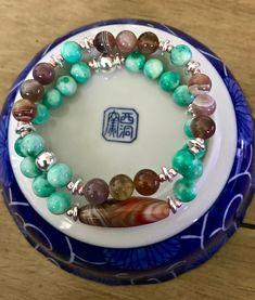 As Summer Sets/ Gemstone Bracelets/ Jade Bracelets/ Stacking Bracelets/ Boho Chic Bracelets/ Stacking Bracelets Set/ OOAK/ Gifts for Her Jade Bracelet, Gemstone Bracelets, Sterling Silver Bracelets, Surfer Bracelets, Stacking Bracelets, Summer Set, Jade Beads, Healing Stones, Gifts For Him