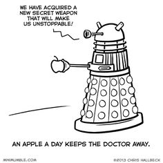 The Daleks have got this figured out.
