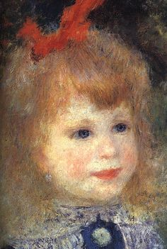 Image: Renoir: Girl With Watering Can (detail), found on flickrcc.net