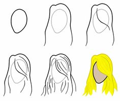 Learning how to draw hair can be difficult. Here is a small tutorial on how to do so.
