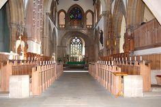 Llandaff Cathedral, Llandaff, Cardiff, South Wales, UK - by Welsh Icons (Dom), via Flickr
