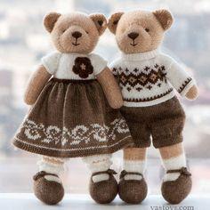 handmade toys by Vasilisa Romanova by vastoys on Etsy