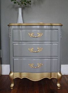 Ideas upcycled furniture diy home decor shabby chic Refurbished Furniture, Paint Furniture, Repurposed Furniture, Furniture Projects, Furniture Making, Furniture Makeover, Home Furniture, Furniture Design, Bedroom Furniture