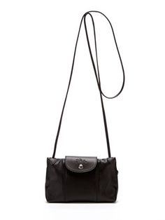 624c6d43bb8c Le Pliage Cuir Small Leather Crossbody by Longchamp at Gilt Longchamp