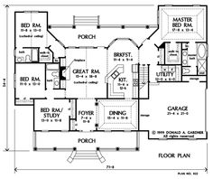 The Baxendale House Plan Images - See Photos of Don Gardner House Plans
