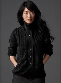 menswear cardigan @ Eileen Fisher, styled by Allegra Colletti http://allegracolletti.com/