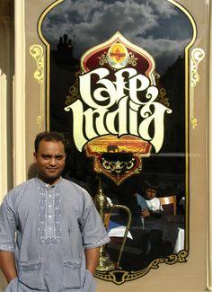 Cafe India « David Smith – Traditional Ornamental Glass Artist