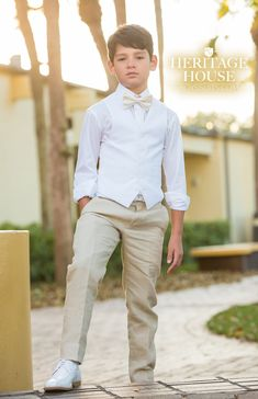 Communion season is right around the corner! Here at Heritage House, we have the finest quality suits and accessories for your occasion 😁 . Boys First Communion Outfit, Communion Suits For Boys, First Communion Party, First Communion Dresses, First Holy Communion, Baptism Outfits For Boys, Young Boys Fashion, Boy Fashion, Boys Formal Wear