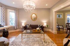 Before & After: Andrea's Blank Slate Living Room — #MakeoverAmerica 2015