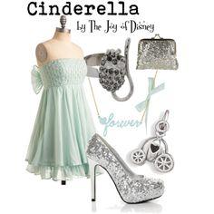 Cinderella, created by thejoyofdisney on Polyvore