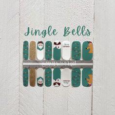 Christmas Nail Wraps / Nail Stickers/ Santa Nails / Nail Polish Strips Christmas Nail Stickers, Christmas Nails, Santa Nails, Nail Bed, Clean Nails, Cuticle Oil, Nail Polish Strips, Us Nails, Nail Wraps