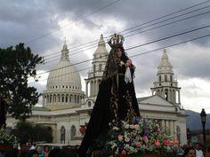 Virgen de la Soledad, Parroquia de Desamparados, San José, Costa Rica