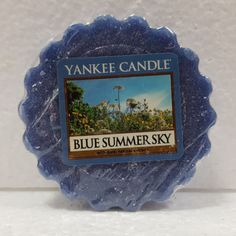 USA LIMITED SPECIAL: YANKEE CANDLE® WAXMELT / TART BLUE SUMMER SKY 22g OLD LABEL