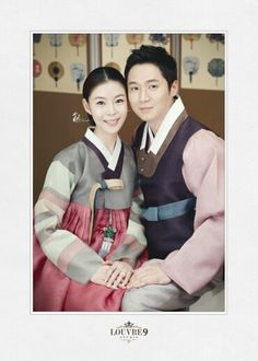 Hanbok, korean, 한복린- 한복.모델-유한나,김성빈.