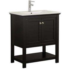 d7c3414a8c Black - Vanities with Tops - Bathroom Vanities - The Home Depot luxury best  Significance of